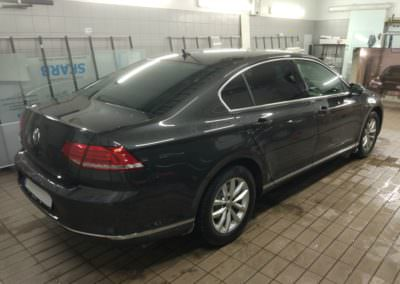 ATR 15 on factory tinted VW Passat B8 back