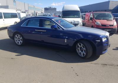 Metalised PP20LU Rolls Royce front
